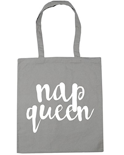 Grey Gym Shopping Tote litres Queen Beach Nap Light 10 42cm x38cm Bag HippoWarehouse xan7RI