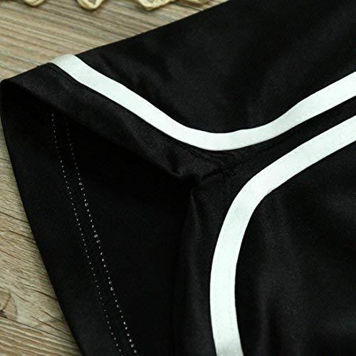 WOCACHI Benefit Women Summer Casual Shorts Pants High Waist Sports Shorts by WOCACHI Women Shorts (Image #3)