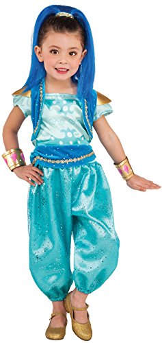 3 Year Old Costumes (Rubie's Costume Shimmer & Shine Deluxe Shine Costume, X-Small)