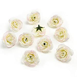 Wedding Party Home Decoration Wreath DIY Scrapbooking Crafts Small Artificial Tea Rose Bud Silk Flower Head 30pcs 29