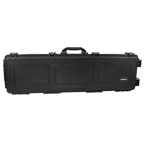 Condition 1 #818 Black Airtight/Watertight Protective Case with Slab Foam