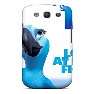 Cute Appearance Cover/tpu KQeIx1273MRJzZ Love At First Fight Rio Case For Galaxy S3