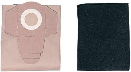 Einhell - Pack de 5 Bolsas Para Aspiradoras (20 Litros), Color ...