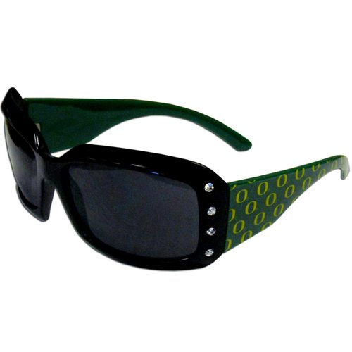 NCAA Oregon Ducks Women's Rhinestone Designer (Rhinestone Designer Sunglasses)
