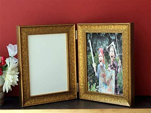 Beaded Moulding - Custom Legacy Antique Studded Metallic Double Triple Folding Hinged Art Photo Moulding frame Gold Leaf Silver Leaf Black Deco Gift Beaded