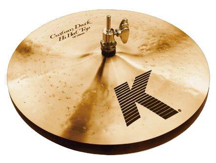 Zildjian K Custom Dark Hi-Hat Top (13 Inches)