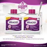 Miralax powder laxative, 68 doses. 2x20.4 OZ