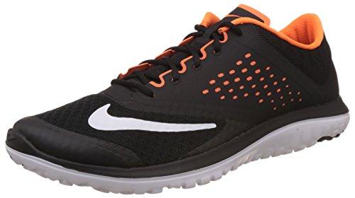 Nike Mens Fs Lite 2 Spring-skor Svart / Vit / Totalt Apelsin