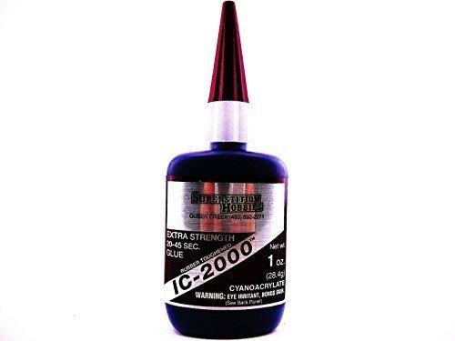 IC-2000 Rubber-Toughened 1oz CA Adhesive Glue