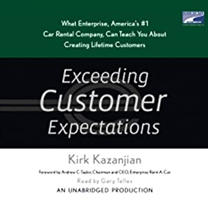 Exceeding Customer Expectations Audiobook