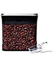 OXO Steel Coffee POP Container with Scoop- 1.7 Qt for Coffee, Tea and More / Grey