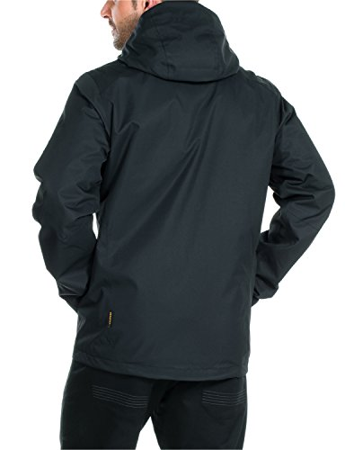 Jacket Morning Jacket Men's Wolfskin Chilly Jack Black Quilted zvqOYWw