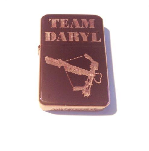 [Vector KGM Thunderbird Custom Lighter - Team Daryl Crossbow Purple ICE Chrome Finish Dead Zombie Tv Show] (Daryl Dixon Costumes)