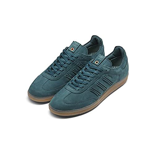 63ec3c1519cc Adidas Womens Samba W Tech Green Suede durable modeling ...