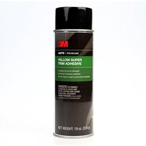 3M 08090 Super Yellow Trim Adhesive, (Yellow Weatherstrip Adhesive)