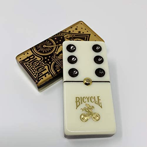 B07N7SSHNC Bicycle Deluxe Domino Set with Two Playing Card Decks 41zRkpaq6dL