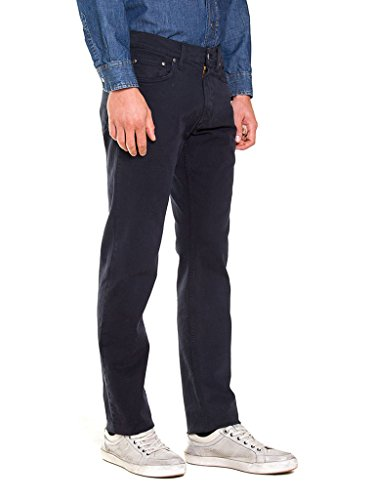 Carrera Color Scuro Regular Denim Uomo Stretch Fit 676 Jeans Blu aaxq1pS