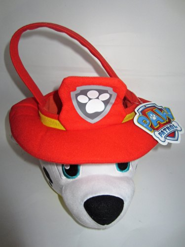 Paw Patrol Plush Easter Basket - Marshall