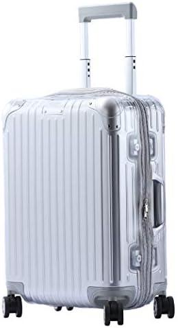 [スポンサー プロダクト]スーツケースカバー ORIGINAL オリジナル 専用 PVC ビニル クリアカバー グレーファスナータイプ(型番:925用)