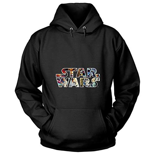 Star Wars T Shirt, The Force Awaken T Shirt - Hoodie (XXXL, Black)
