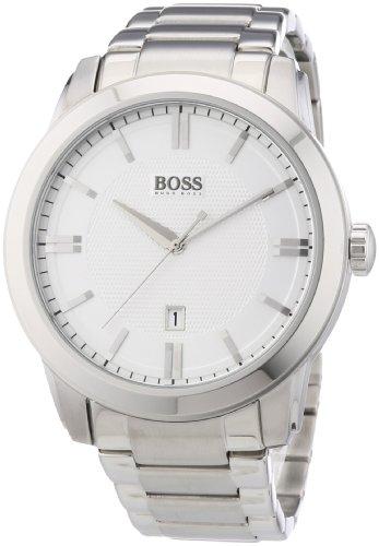 Hugo Boss 1512768 Black Calfskin Band Men's & Women's Watch