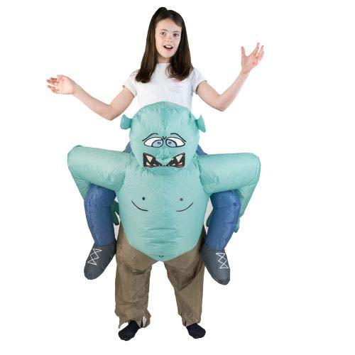 Bodysocks Inflatable Troll Costume (Kids) -