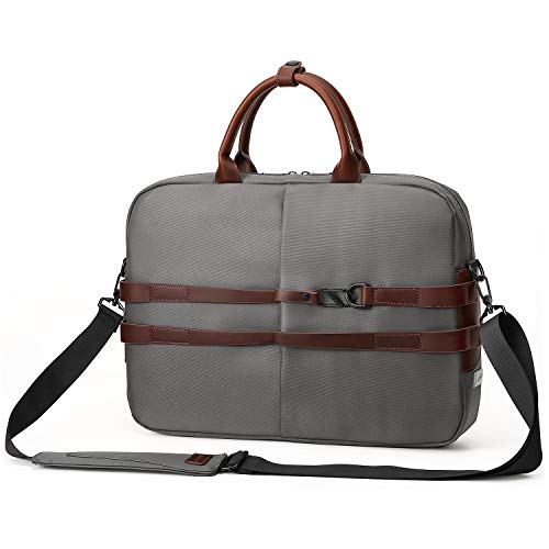 LD AirCase Signature Series CS61 Laptop Messenger Bag for 13 Inch 14 Inch 15 6 Inch Vintage Grey
