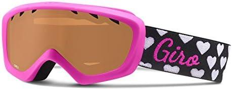 Giro Chico Youth Snow Goggles Magenta Hearts AR 40 Lens