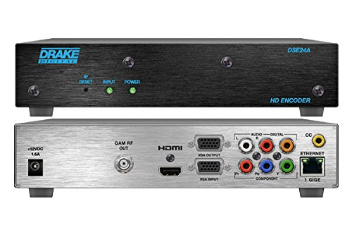 Source Digital Modulator (DSE24, R.L. Drake HD/SD Digital Modulator with Closed Caption)