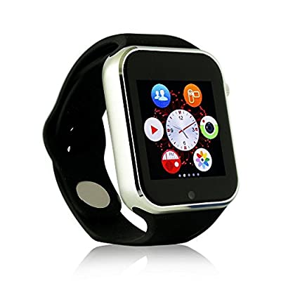 Yuntab Smartwatch-w10 Bluetooth 2.0 Smart Watch Wrist Wrap Watch Phone for IOS Apple Iphone 4/4s/5/5c/5s /6/6 Plus Android Samsung S2/s3/s4/s5/note 2/note 3 HTC