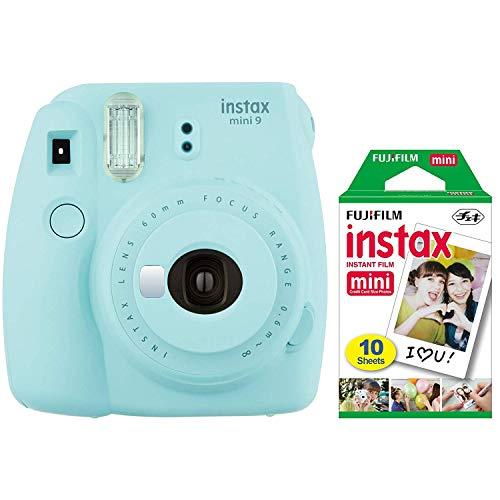 Fujifilm instax mini 9 Holiday Bundle (Ice Blue)