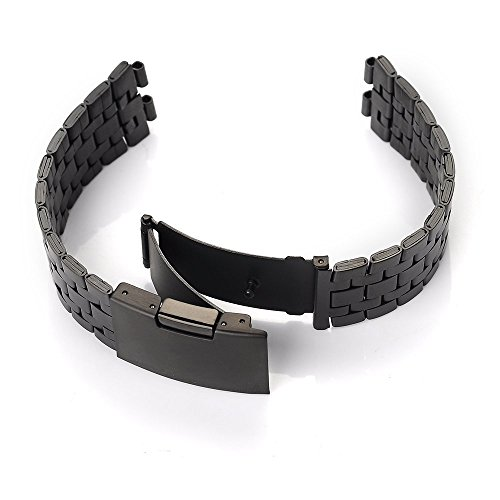 GOOQ-Steel-Stainless-Metal-Smartwatch-Watchband-for-Pebble-Steel-2-Smart-Watch-Arm-Band