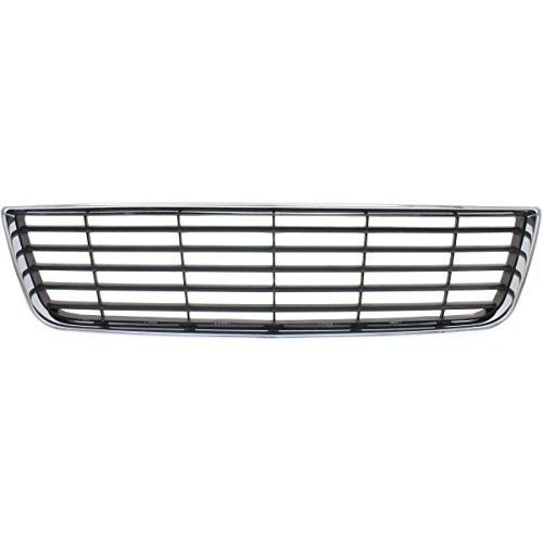 New Front Bumper Cover Grill For 2006-2011 Chevrolet Impala except SS Model Chrome Shell/Dark Gray Insert GM1036106