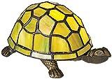 Green Tortoise Tiffany Style Accent Lamp - Robert Louis Tiffany