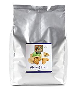 Amazon.com : Almond Flour, UNBLANCHED Almonds Healthy