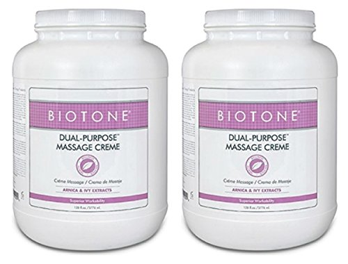 BIOTONE® Dual Purpose Massage Creme, 2 x Gallons, DPC1G