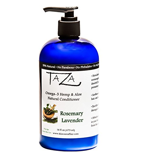 Taza Rosemary Lavender Conditioner Contains