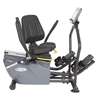 Physiostep MDX Recumbent Elliptical Cross Trainer With Swivel Seat - 1 Each / Each - 69-0157