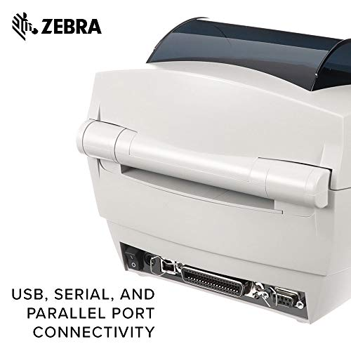 ZEBRA- GC420d Direct Thermal Desktop Printer for Labels, - Import It All