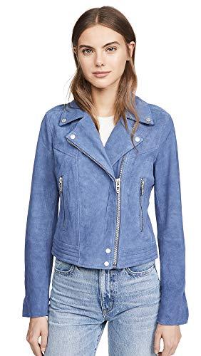 [BLANKNYC] womens Real Suede Moto Jacket