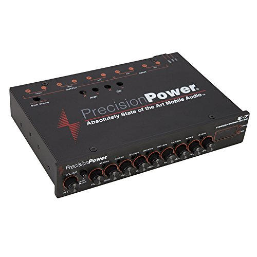 Cheap Precision Power E.7 1/2 DIN 7-Band Parametric Equalizer with LED Display