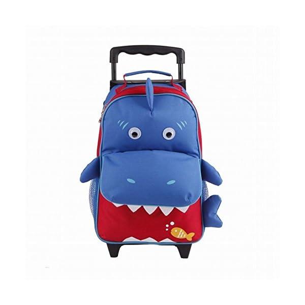 470c3f7b5d Babyhugs® 3 Vie Kids Animal-Valigia Trolley da cabina Zaino scuola ...