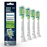 Genuine Philips Sonicare W3 Premium White toothbrush head, HX9064/65, 4 -pk, white
