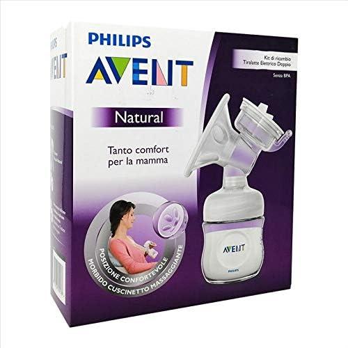 Philips 6649110 Kit Ricambio Tiralatte Doppio Natural