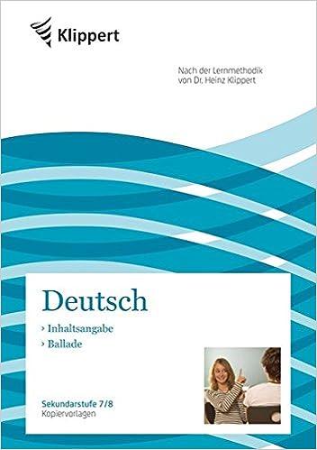 Deutsch gedichte inhaltsangabe