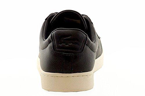 Zapatillas Lacoste Hombres Carnaby Evo 2 Black Sneakers