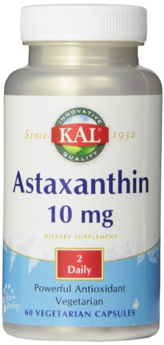 KAL astaxanthine capsules, 10 mg, 60 comte