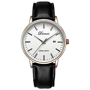 LKTGBRCVZJU Relojes Marea Reloj de los Hombres de los Hombres Tendencia Simple Casual Moda a Prueba