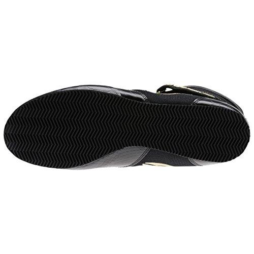 best service a0cc7 6e751 Reebok Boxing Boot-Buck - Black-Gold - 7 Amazon.co.uk Sports  Outdoors