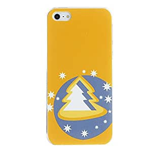 Blinking Christmas Tree Pattern PC Hard Case for iPhone 5/5S